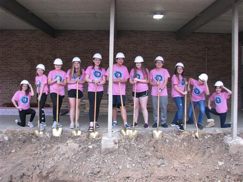 VMS Groundbreaking for Corridor Construction