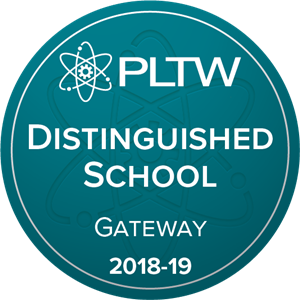 Woodridge Middle School Recognized as a Project Lead The Way Distinguished School