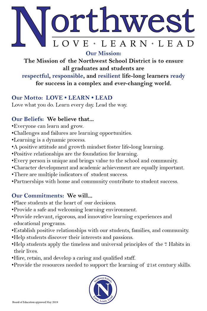 Northwest Mission Statement
