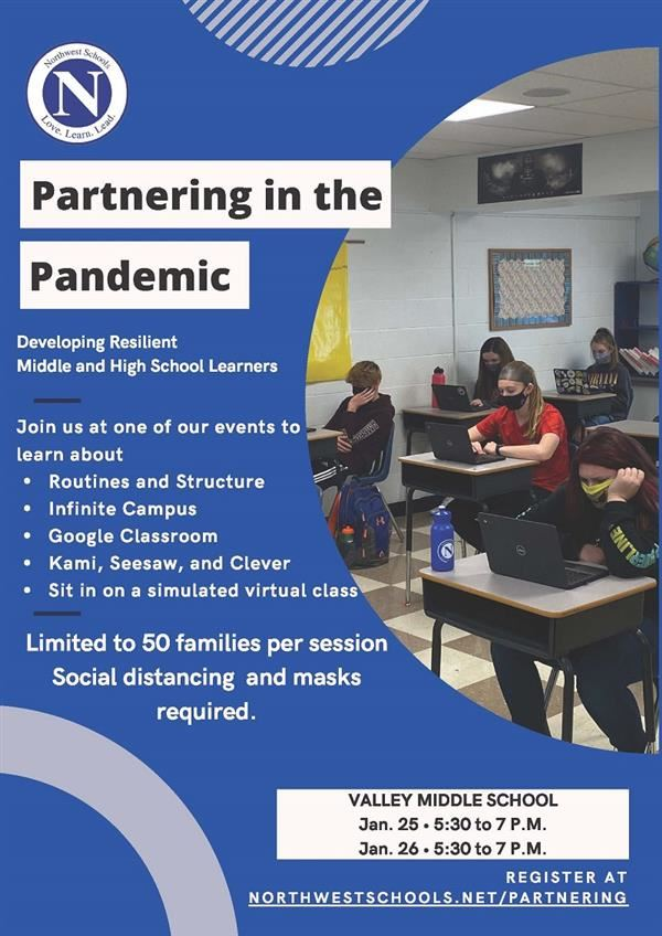 Partnering inthe Pandemic flyer