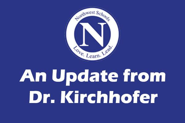 An update from Dr. Kirchhofer